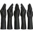 Kép 1/5 - Kink Fist Fuckers Stretching Hand Black dildók