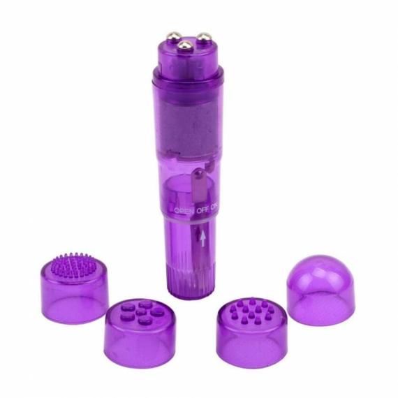 The Ultimate Mini Massager Purple csiklóizgató