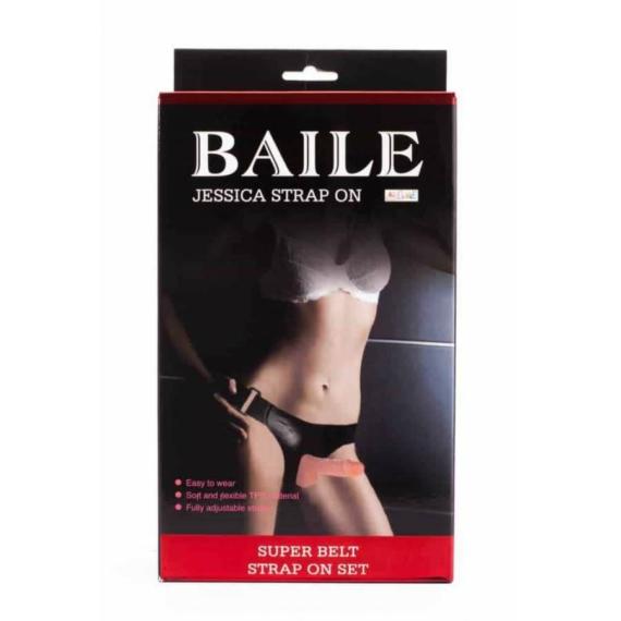 Jessica Strap-on felcsatolható pénisz