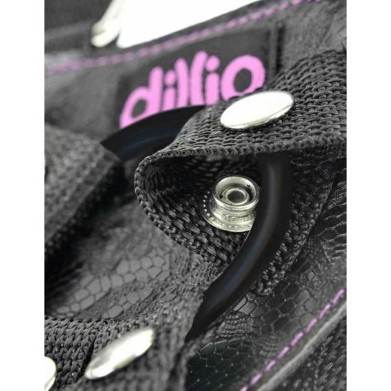 """Dillio  6"""" Strap-On Suspender  Harness Set felcsatolható pénisz"""