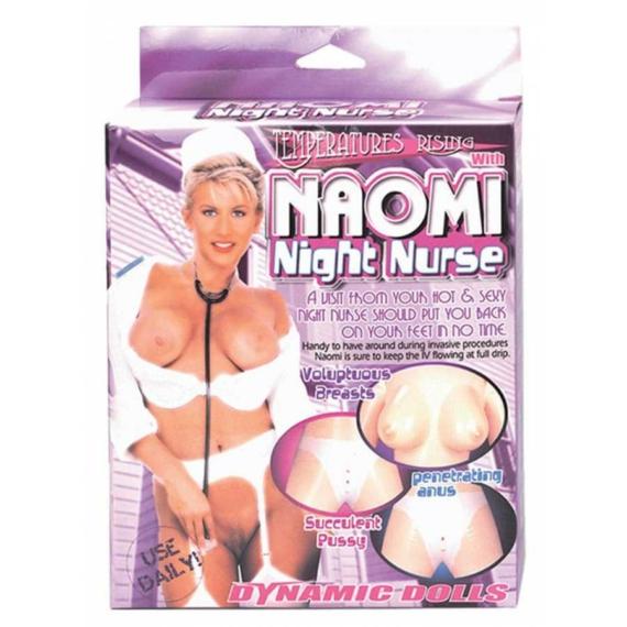 Naomi Night Nurse With Uniform guminő
