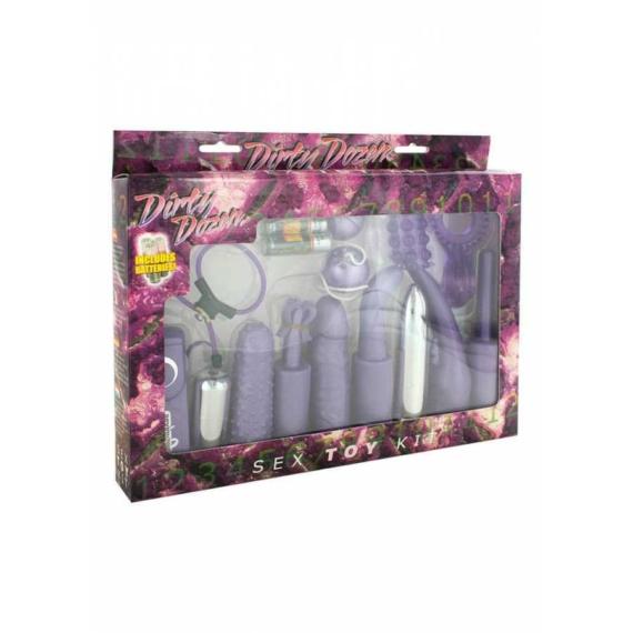 Dirty Dozen Sex Toy Kit Purple szexkellékek