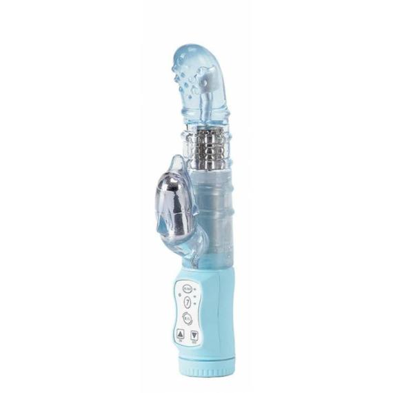 Mini Dolphin Light Blue G-pont vibrátor