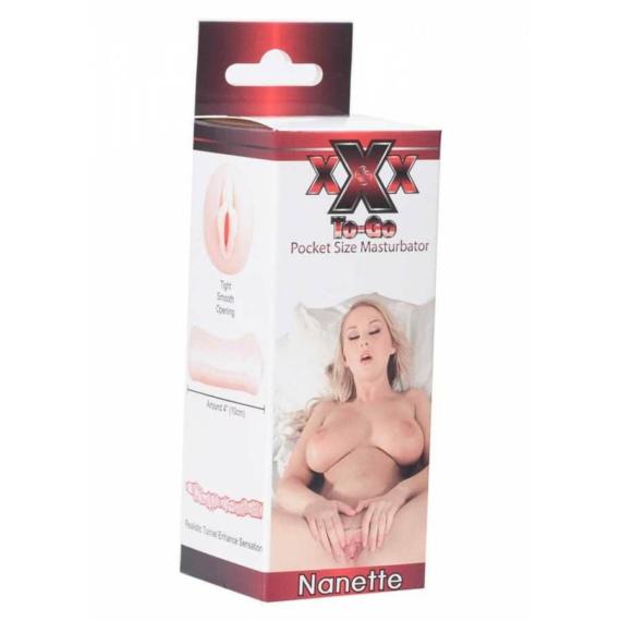 XXX To-Go Nanette Masturbator műpunci