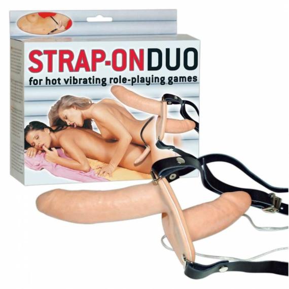 Strap-on Duo felcsatolható pénisz
