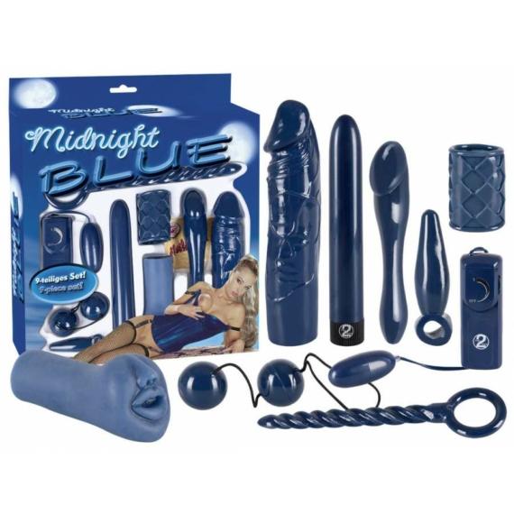 Midnight Blue Set szexkellékek