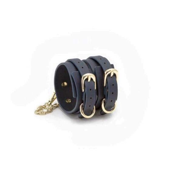 Bondage Couture - Ankle Cuff - Blue bilincs